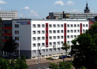 Askanische Straße in Dessau